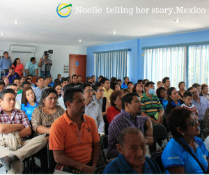 Noelle Telling her Story 2 - Mexico