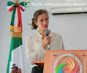 Noelle Telling her Story - Mexico