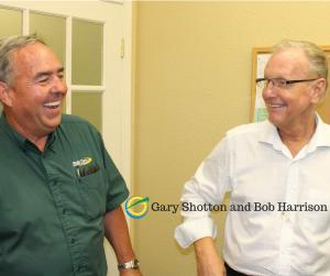 Gary Shotton and Bob Harrison