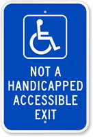 Not-A-Handicapped-Accessible-Exit-Sign-K-6234